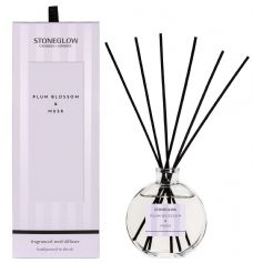 Stoneglow Candles Modern Classics PLUM BLOSSOM and MUSK Reed Diffuser Gift Boxed